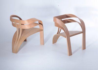 chair, steam bent, armchair