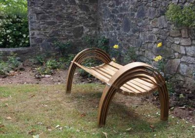 oak bench, outdoor furniture, bench