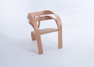 chair, steam bent