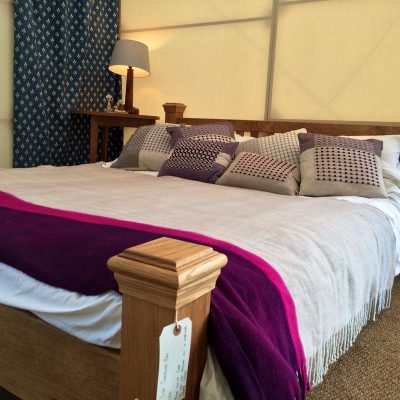 king size bed, wooden bed