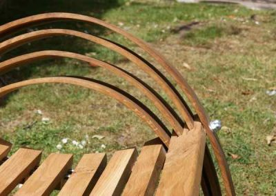 oak bench, outdoor furniture, bench