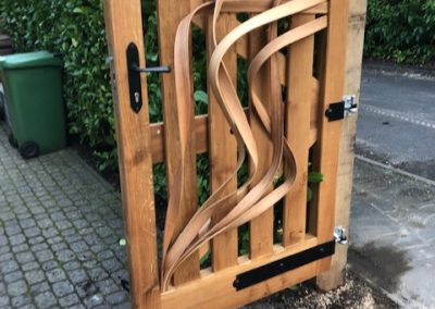 Oak And Ash Steam Bent Gates